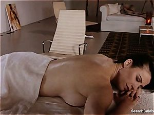 marvelous Mimi Rogers gets her whole assets caressed