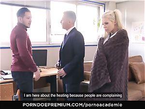 porn ACADEMIE - Barbie Sins slit dp and jism in mouth